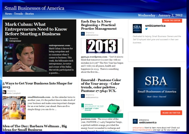 Small Businesses of America 010213
